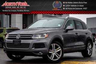 Used 2012 Volkswagen Touareg Comfortline AWD|Nav|Pano_Sunroof|Leather|Pkng Sensors|19