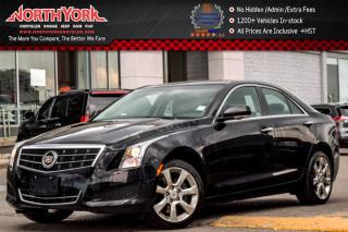 Used 2014 Cadillac ATS Sedan Luxury AWD|Leather|BOSE|Backup Cam|R.Start|Pkng Sensors|18