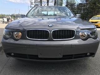 Used 2003 BMW 7 Series LOCAL,ONE OWNER,FULLY LOADED,ONE OWNER for sale in Vancouver, BC