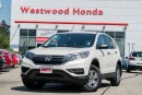 Used 2016 Honda CR-V LX - Accident Free! Warranty until 2022 for sale in Port Moody, BC