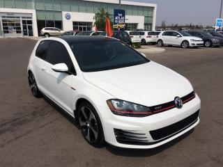 Used 2016 Volkswagen Golf GTI 3-Door Autobahn (DSG) for sale in Calgary, AB