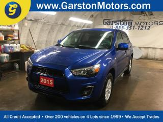 Used 2015 Mitsubishi RVR AWD*CVT*PHONE CONNECT*HEATED FRONT SEATS*KEYLESS ENTRY*POWER WINDOWS/LOCKS/MIRRORS*FOG LIGHTS* for sale in Cambridge, ON