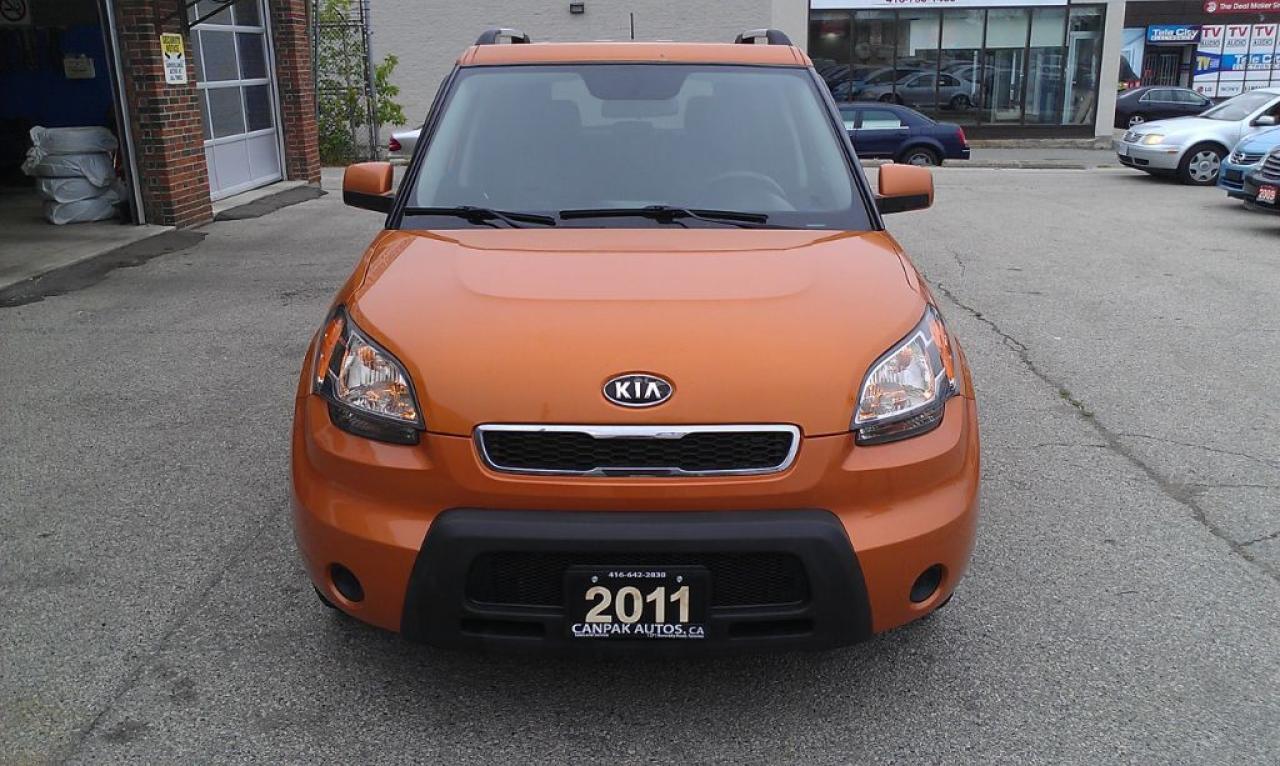 Photo of Orange 2011 Kia Soul