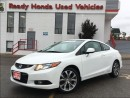 Used 2012 Honda Civic Si - Navigation - Sunroof for sale in Mississauga, ON