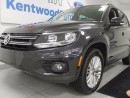 Used 2016 Volkswagen Tiguan Highline 2.0L turbo AWD 4Motion with a back up cam and push start for sale in Edmonton, AB