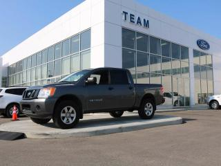 Used 2015 Nissan Titan S, 5.6L V8, Accident Free, Locking Tailgate, Low KM for sale in Edmonton, AB
