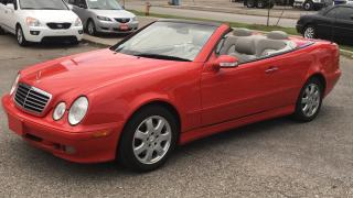 Used 2002 Mercedes-Benz CLK incomparable condition for sale in North York, ON