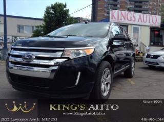 Used 2013 Ford Edge SEL, NAVI, BACK-UP CAM, TRACTION, BLUETOOTH for sale in Scarborough, ON