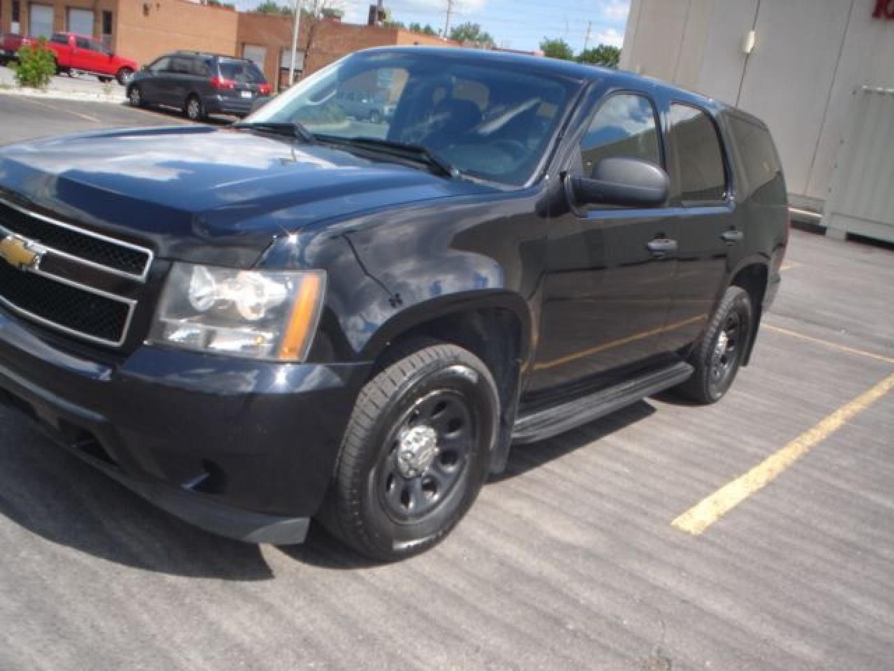 2014 Chevrolet Tahoe ex police blk/blk 6 passenger