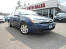 Used 2008 Ford Focus 4dr Sdn SE AUTO PW PL PM SAFETY WARRATNY for sale in Oakville, ON