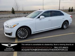 New 2017 Genesis G90 ULTIMATE AWD for sale in Edmonton, AB