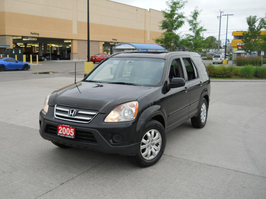 used 2005 honda cr v ex l auto leather roof 3 y warranty available for sale in north york. Black Bedroom Furniture Sets. Home Design Ideas
