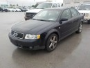 Used 2003 Audi A4 18T for sale in Innisfil, ON