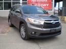 Used 2015 Toyota Highlander Hybrid LEATHER LOADED for sale in Toronto, ON