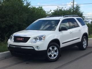 Used 2009 GMC Acadia SLE  **ACCIDENT FREE** 7 PASSENGER! for sale in Brampton, ON