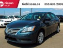 Used 2013 Nissan Sentra AUTO, AIR, VERY LOW KM'S!! for sale in Edmonton, AB