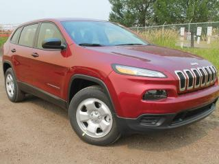 Used 2017 Jeep Cherokee Sport 4x4 / Rear Back Up Camera for sale in Edmonton, AB