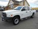 Used 2008 Dodge Ram 1500 ST Quad Cab 4X4 Loaded Certified 168,000KMs for sale in Etobicoke, ON