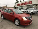 Used 2010 Nissan Sentra AUTO 4 DR LOW KM NO ACCIDENT SAFETY ETEST for sale in Oakville, ON