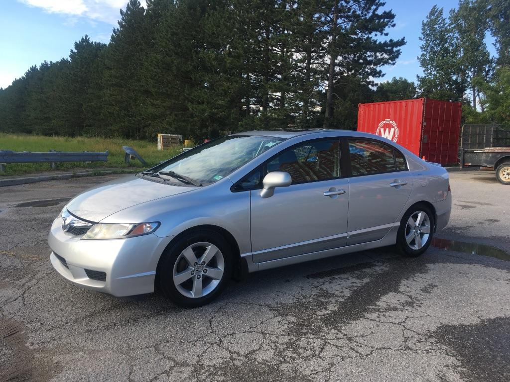 used 2009 honda civic sport for sale in scarborough ontario. Black Bedroom Furniture Sets. Home Design Ideas