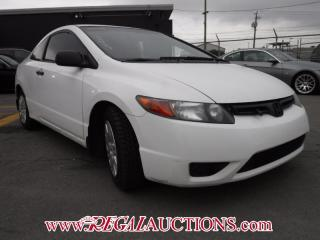 Used 2008 Honda CIVIC DX 2D COUPE for sale in Calgary, AB