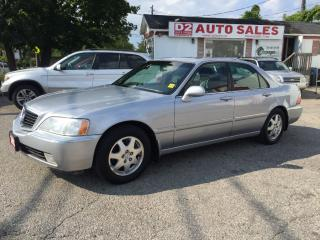 Used 2002 Acura RL Very Luxurious/Leather/Roof/Loaded/Certified for sale in Scarborough, ON