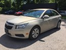 Used 2012 Chevrolet CRUZE 1LT * BLUETOOTH * SAT RADIO SYSTEM * PREMIUM CLOTH SEATING for sale in London, ON