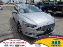 Used 2017 Ford Fusion SE   LEATHER   SUNROOF   BACKUP CAM for sale in London, ON