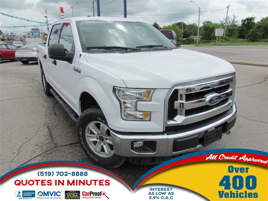 Used 2015 ford f 150 xlt 4x4 sat radio bluetooth for for Ford motor credit interest rates for tier 4