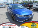 Used 2016 Chrysler 200 C | LEATHER | NAV | BACKUP CAM for sale in London, ON