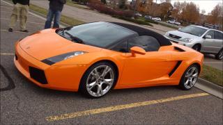 2008 Lamborghini Gallardo SPIDER