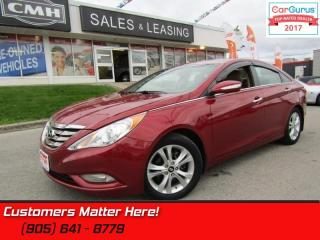 Used 2013 Hyundai Sonata Limited  LEATHER, SUNROOF, BLUETOOTH, HEATED SEATS for sale in St Catharines, ON