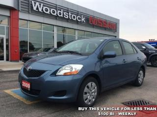 Used 2009 Toyota Yaris Base  - $79.58 B/W - Low Mileage for sale in Woodstock, ON
