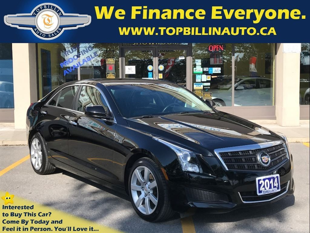 2014 Cadillac ATS Only 28K kms, Clean Carproof - Accident Free
