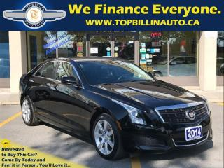 Used 2014 Cadillac ATS Only 28K kms, Clean Carproof - Accident Free for sale in Concord, ON