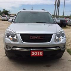 Used 2010 GMC Acadia SLE for sale in Brunkild, MB
