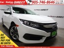 Used 2016 Honda Civic LX| BACK UP CAMERA| TOUCH SCREEN| HEATED SEATS| for sale in Burlington, ON