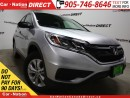 Used 2016 Honda CR-V LX| AWD| BACK UP CAMERA| HEATED SEATS| for sale in Burlington, ON