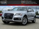 Used 2016 Audi Q5 2.0T Progressiv|Quattro|Navi|Backup Cam|Bluetooth|Leather|Keyless entry|18