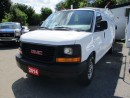 Used 2014 GMC Savana HARD WORKING G2500 EXTENDED CARGO 2 PASSENGER 4.8L - V8.. STABILITRAK.. ROOF LADDER RACK.. CARGO DIVIDER.. CARGO SHELVING.. TOW SUPPORT.. for sale in Bradford, ON
