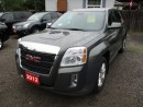 Used 2012 GMC Terrain WELL EQUIPPED SLE-1 MODEL 5 PASSENGER 2.4L.. AWD.. BACK-UP CAMERA.. TOUCH SCREEN DISPLAY.. BLUETOOTH.. KEYLESS ENTRY.. for sale in Bradford, ON