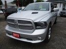 Used 2013 Dodge Ram 1500 WELL EQUIPPED SPORT MODEL 5 PASSENGER 5.7L HEMI.. 4X4.. QUAD CAB.. SHORT BOX.. LEATHER.. BLUETOOTH.. HEATED SEATS.. TOUCH SCREEN DISPLAY.. TOW SUPPORT for sale in Bradford, ON