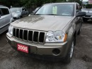 Used 2006 Jeep Grand Cherokee 'GREAT VALUE' LAREDO MODEL 5 PASSENGER 3.7L - SOHC ENGINE.. 4WD.. CLOTH INTERIOR.. AM/FM/CD PLAYER.. for sale in Bradford, ON