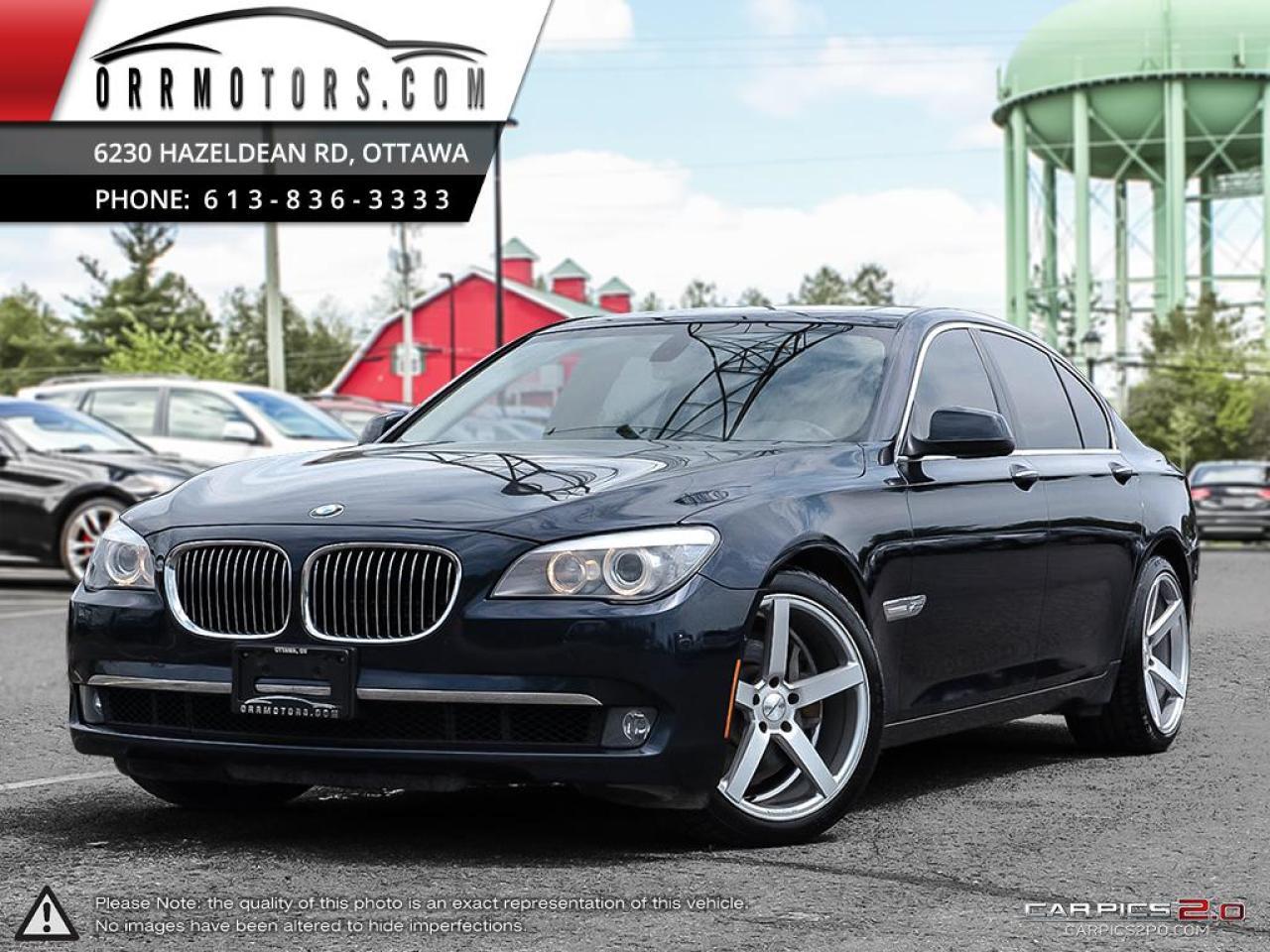 2012 BMW 750i 750i xDrive Sedan