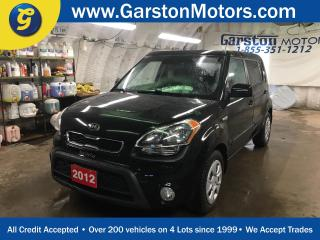 Used 2012 Kia Soul HEATED FRONT SEATS*PHONE CONNECT*POWER WINDOWS/LOCKS/MIRRORS*TRACTION CONTROL*AM/FM/CD/AUX/USB/BLUETOOTH*FOG LIGHTS* for sale in Cambridge, ON