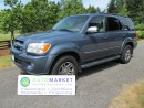 Used 2007 Toyota Sequoia LIMITED 4WD for sale in Surrey, BC
