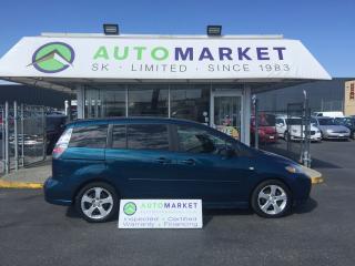 Used 2006 Mazda MAZDA5 GT SUNROOF, WARRANTY! for sale in Langley, BC