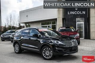 Used 2017 Lincoln MKC Reserve, WARRANTY TO 160000KM, FINANCE FROM .9% for sale in Mississauga, ON