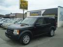 Used 2007 Land Rover LR3 V6 SE! 7 PASSENGER! LOADED! for sale in Etobicoke, ON