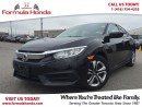 Used 2016 Honda Civic Sedan LX | BLUETOOTH | REAR-VIEW CAMERA for sale in Scarborough, ON